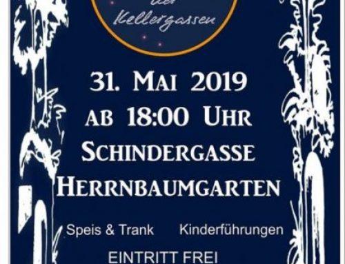 Lange Nacht der Kellergassen in Herrnbaumgarten 31. Mai 2019