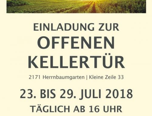 Offene Kellertür 2018