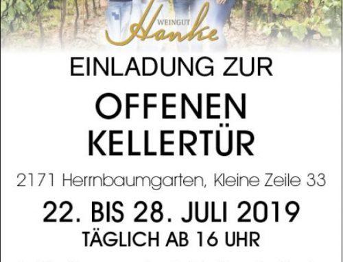 Offene Kellertür 2019